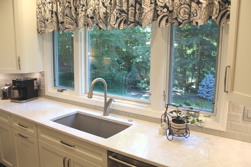 Willoughby Kitchen Design - Sink And Windows - Gerome's Kitchen And Bath