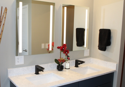 Bathroom Remodeling - Kohler Verdera - Lighted Mirrors - Gerome's Kitchen And Bath