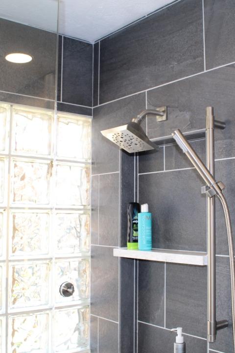 Bathroom Remodeling - Virginia Tile Shower - Gerome's Kitchen And Bath
