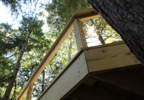 Deck Design - Wooded View - Gerome's Kitchen And Bath