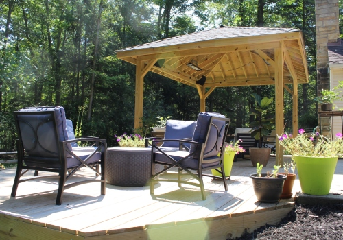 Deck Remodeling - Open-Air Octagon
